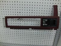 Jeep Cherokee Instrument Panel Right Dash Bezel Red 84 85 87 88 89 Comanche