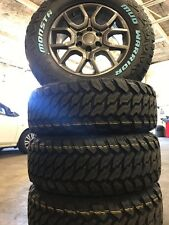 Ford Ranger FX4 18 Inch Wheels And Mud Terrain Tyres Package 285/60/18 Monsta