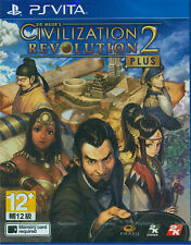 Sid Meier's Civilization Revolution 2+ HK Chinese/English subtitle PSVita NEW