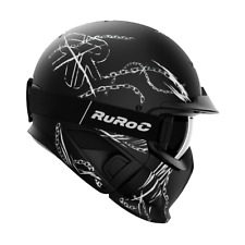 Ruroc - RG1-DX Chainbreaker - Color: Black - Tamaño: M/L (57-59cm) - Season: