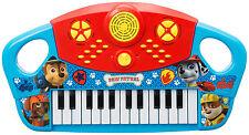 PAW PATROL GRANDE MUSICAL TECLADO PIANO 25 KEYS INFANTIL JUGUETE PARA NIÑOS