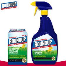 Roundup Gazon Désherbant 1 L Demande Prêt + 100 ML Concentré