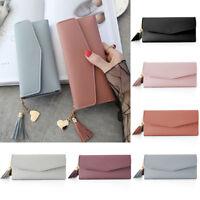 Lady Women Clutch Long Coin Purse Leather Wallet Card Holder Handbag Phone Bag