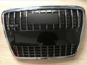 Grille Chrome Frame Chrome Rings Grill For Audi A8 D3 2005-2010