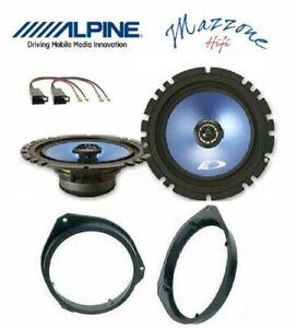 ALPINE SXE-17C2 Set 2 Arcas Opel Corsa D Astra H Brkt / Conn Ant Altavoces Coche