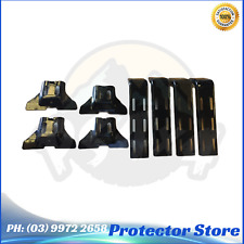 4 Roof Rack Brackets Universal for rain gutter mounts 4x4 4WD