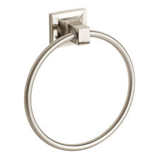 Brushed Nickel Towel Ring Holder Hanger Bathroom Hardware Bath Accessory