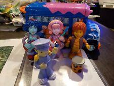 Ultra Rare Mattel Cookie Jar Doodlebops Tour Bus And Figure Lot