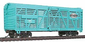 WALTHERS TRAINLINE HO SCALE 40' STOCK CAR NYC #3121 | BN | 931-1687