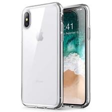 "iPhone XS 6.5"" Max Back Case Cover Soft TPU Transparent Slim Anti Slip/Yellowish"