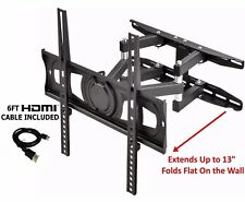 Tv Wall Mount Full Motion Bracket Tilt Swivel LED LCD 32 39 40 42 49 50 52 55 60