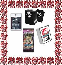 Buddyfight Darkness Dragon World 50 Cards Player Kit + Deck Box & Sleeves + Pack