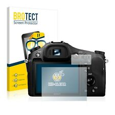 2x BROTECT Displayschutzfolie Klar Sony Cyber-Shot DSC-RX10 II Schutzfolie