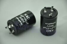 1pc 500V 32+32uf Electrolytic Capacitor For Audio Guitar Tube HI-FI Valve Amp