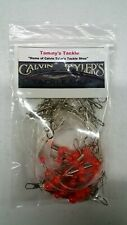 Pack of 12 17 inch Double Drop Leader Top and Bottom Rigs