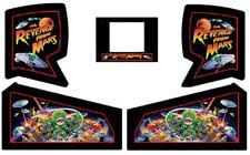 REVENGE FROM MARS Pinball Machine Cabinet Decals NEXT GEN - LICENSED