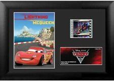 Film Cell Genuine 35mm Framed & Matted Cars 2 Disney Lightning McQueen z