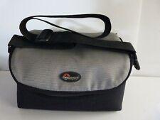 Lowepro Camera Bag with shoulder strap.