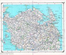 Fyn Odense Fredericia 1923 estado mayor tiene-mapa Nyborg Assens Bogense Kerteminde