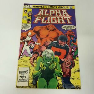 Alpha Flight Vol 1 Issue 2 Marvel Comic Book Bundle 1980s