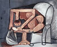 "PICASSO LITHOGRAPH ""Femme a la Toilette""  Signed Numbered from Marina Estate COA"