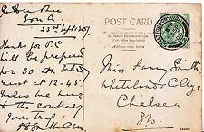 Genealogy Postcard - Family History - Smith - Chelsea - London  560A