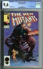 NEW MUTANTS #19 CGC 9.6 WHITE PAGES