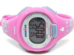 Timex Ironman Triathlon Indiglo TW5M07000 WR 100M Quartz Digital Ladies Watch