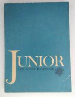 Vintage 1963 Junior Girl Scout Handbook 4th Impression December 1963 Soft Cover