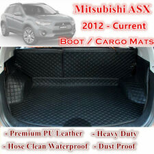 Custom Car Boot Cargo Mats Wheel Arches Cover Liner for Mitsubishi ASX 12 - 2020