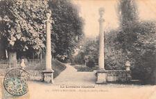 PONT-A-MOUSSON 178 entrée du jardin d'amour timbrée 1905