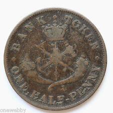 1857 Canada Half-Penny SNo28841