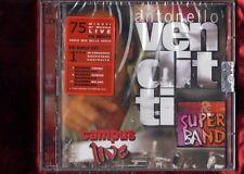 ANTONELLO VENDITTI-CAMPUS LIVE CD + DVD  NUOVO SIGILLATO