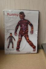 "NEW KIDS BOYS SIZE LARGE 12-14 MUMMY OUTFIT ""SCARY"" HALLOWEEN COSTUME"