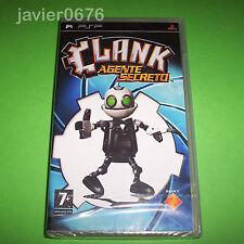 CLANK AGENTE SECRETO NUEVO PRECINTADO PAL ESPAÑA PLAYSTATION PSP