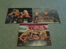 TNA KNOCKOUTS LACEY VON ERICH & VELVET SKY AUTHENTIC SIGNED 8X10 PHOTOS CHOOSE 1