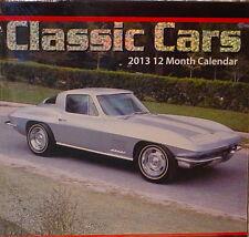 CLASSIC CARS 2013 12 MONTH CALENDAR