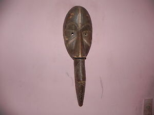 "Arts of Africa - Dan Guere Wobe - Liberia - Symbol of fertility -21""Height X 7""W"