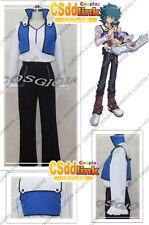 Yu-Gi-Oh! GX Jesse Anderson cosplay costume blue