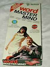 A Vintage Boxed 1975 English Invicta Word Mastermind Game by Kenbrite