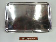 COMPAGNIE GENERALE TRANSATLANTIQUE - GRAND PLATEAU DE SERVICE mo: CHRISTOFLE