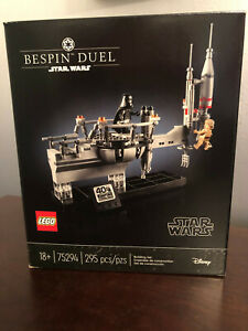 LEGO Star Wars 75294 Bespin Duel Set 40th SW Celebration Event Exclusive! New!