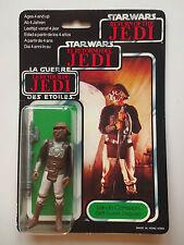 VINTAGE STAR WARS 1983 TRI LOGO LANDO CALRISSIAN SKIFF GUARD 79 BACK MOC RARE!!
