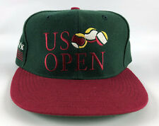 1993 US Open (New York) Baseball Snapback Hat Green Red Vintage