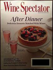 Wine Spectator Magazine September 30, 2014 AFTER DINNER WINES BURGUNDY PINOT NOI