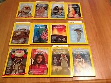 1973 National Geographic Magazine With Maps Complete Year 12 Issues