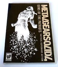 Metal Gear Solid saga 2: Guns of the Patriots (DVD) bonus 4
