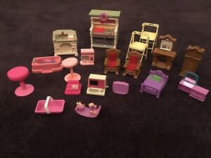 Barbie Furniture X 19 Pieces