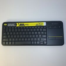Logitech K400 Plus Wireless Touch Keyboard with Touchpad - No Dongle