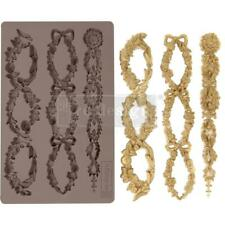 Prima Marketing Mould Mold FLORAL CHAIN Food Safe Clay Candy Chocolate Resin